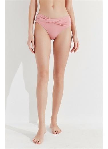 Penti Mistik Gül Basic Twist Bikini Altı Pembe